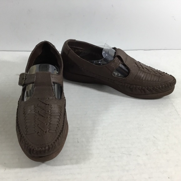 the latest 59baf d7851 AirStep Jackie Brown Leather Mary Jane Moccasin